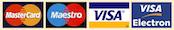 Maestro Visa MasterCard