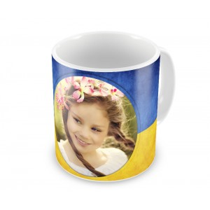 Чашка з украиской символикой