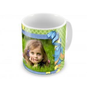 Чашка с фото ребёнку