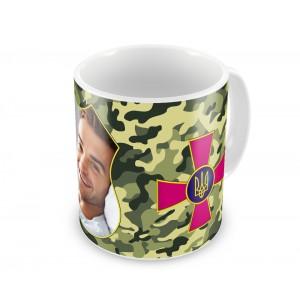 Чашки на 23 февраля, 14 октября, армия