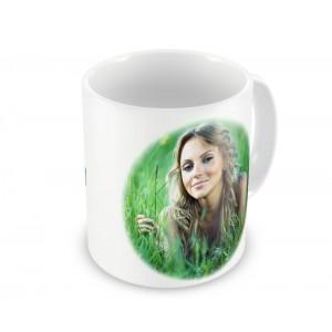 Чашка с фото и именем