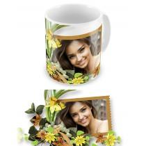 Квіткова радість. Чашка на День народження #2