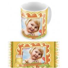 Радостное мгновение. Чашка на день рождения ребенка #1