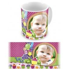 Сладкий подарок. Чашка на день рождения ребенка #2