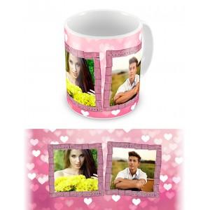 Розовые мечты. Чашка для влюбленных, на 8-е марта, ко Дню Святого Валентина #2