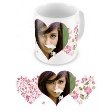 Цветочные сны. Чашка для влюбленных, на 8-е марта, ко Дню Святого Валентина #4