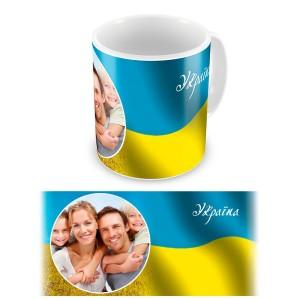 Патриот. Чашка Украина #7