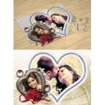 Два серця. Фотопазл Любов, День Святого Валентина #2