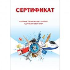 """Сертификат """"Путешествие"""" тип 2 русский язык"""