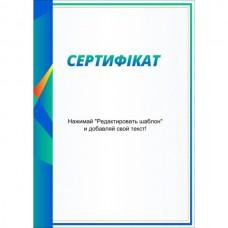 Сертифікат тип 9 українська мова