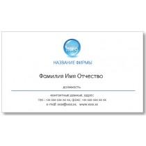 Візитки 100 шт бізнесмена - Візитка з логотипом-2