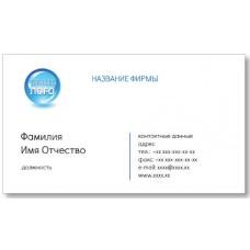Візитки 100 шт бізнесмена - Візитка з логотипом-3