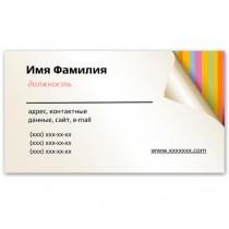 Визитки 100 шт – Просто визитки #10