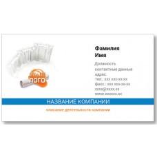 Визитки 100 шт для специалиста по ремонту, строителя – Строительная фирма