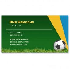 Визитки 100 шт визиток спортсмена, тренера #2